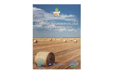 Cenovnik mašinskih usluga u poljoprivredi – 2021