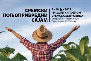 """Sremski poljoprivredni sajam """"AGROSIRM"""" 9. i 10. jula"""